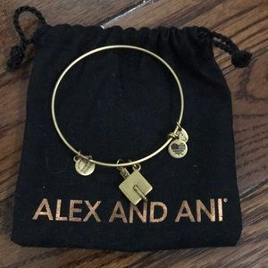 Alex and Ani graduation cap bracelet